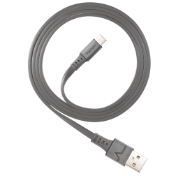 ChargeSync Alloy USB-C Charge Cable (3.3ft)(Gray)