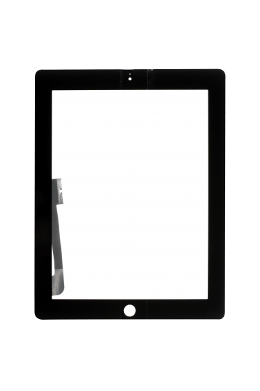 Platinum Digitizer for use with iPad 3/4 (Black)