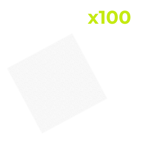 100 Pack Microfiber Cloths