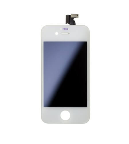 LCD Screen and Digitizer Assembly, White, for use with iPhone 4 AT&T