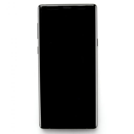 LCD Digitizer Assembly w/frame for use with Samsung Galaxy Note 9 (Black)