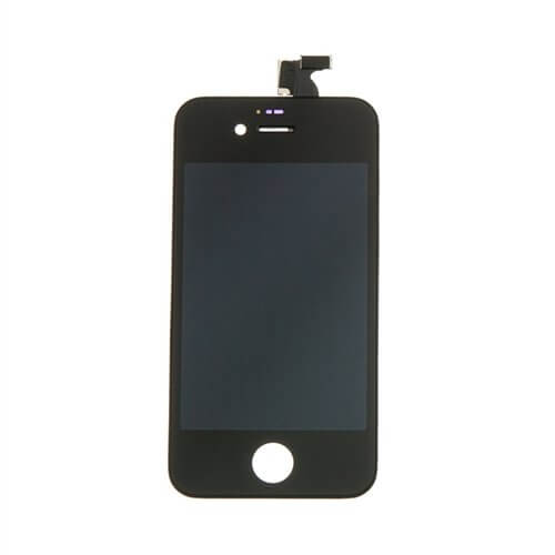 LCD Screen and Digitizer Assembly, Black, for use with iPhone 4S