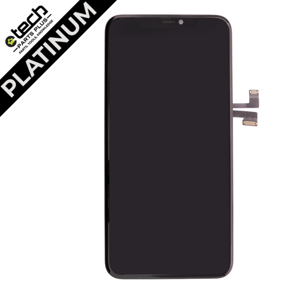 Platinum OLED Assembly for use with iPhone 11 Pro Max(Black)