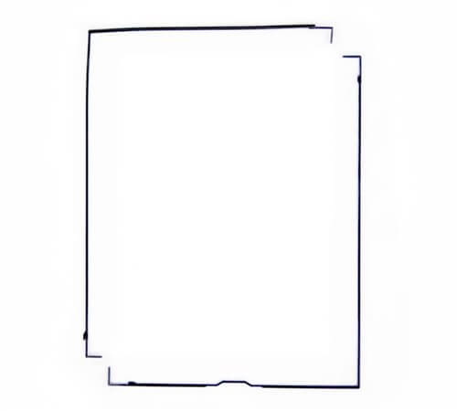 LCD Screen Anti Dust Foam Pad for use with iPad 2/3/4