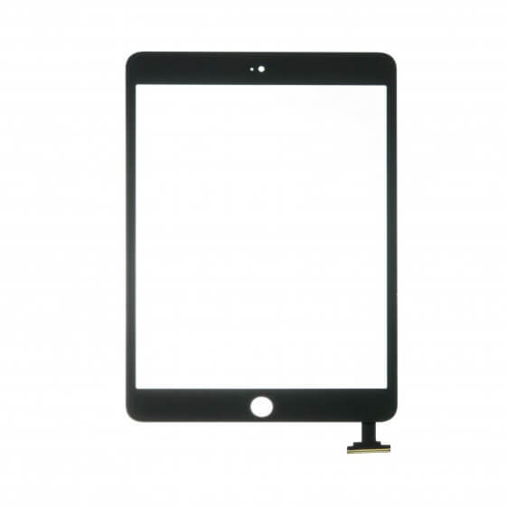 Glass and Digitizer Touch Panel Assembly for use with Black iPad Mini & iPad Mini w/Retina