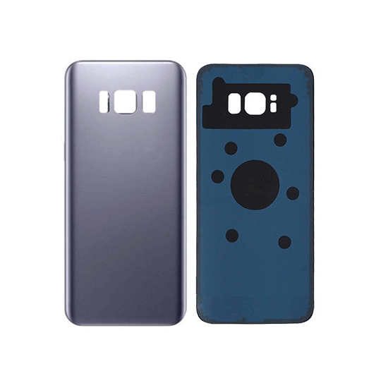 Galaxy S8 Back Glass with Adhesive, Purple
