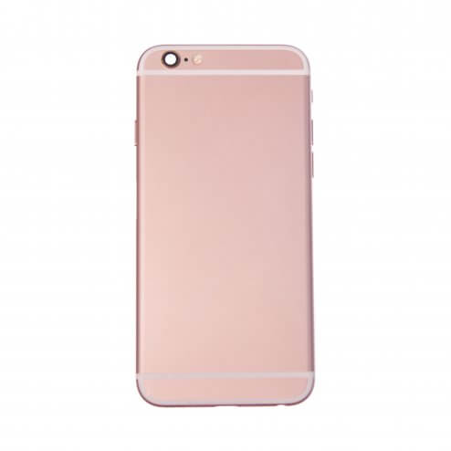 "Back Housing for use with iPhone 6S (4.7""), With Small Parts, Rose Gold"
