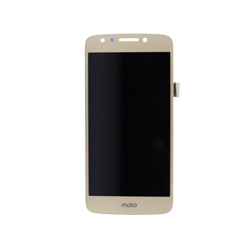 LCD Assembly for use with Moto E4 XT1765/XT1766 (Gold)