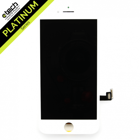 Platinum LCD Assembly for use with iPhone 8 (White)