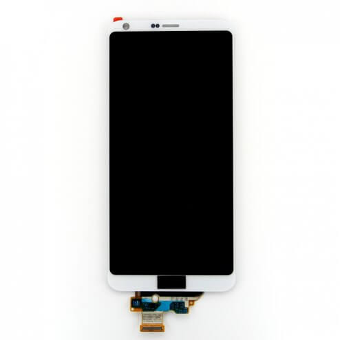 LCD/Digitizer without frame for use with LG G6  (White)