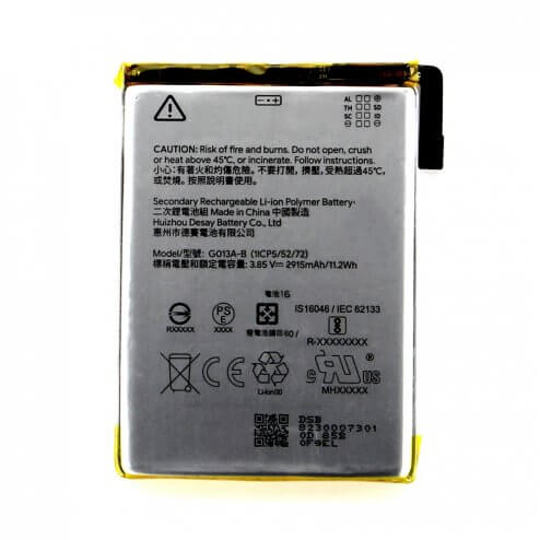 Battery for use with Google Pixel 3 XL 6.3