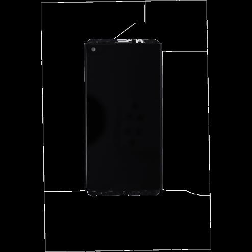 LCD/Digitizer w/Frame for use with LG V20 (Black)