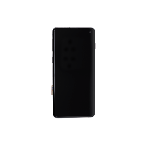 OLED Assembly (With Frame) for use with Samsung Galaxy S10 (Black)