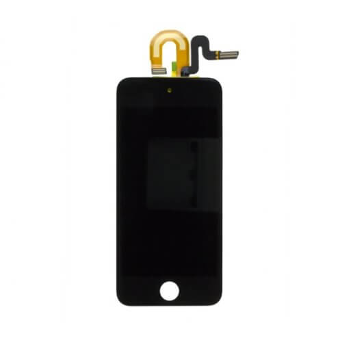 LCD, Digitizer and Glass Screen Assembly, Black, for use with Gen 5 iPod Touch 32gb and 64gb