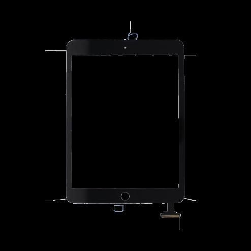 Platinum Digitizer for use with iPad Mini 1/2 (Black)