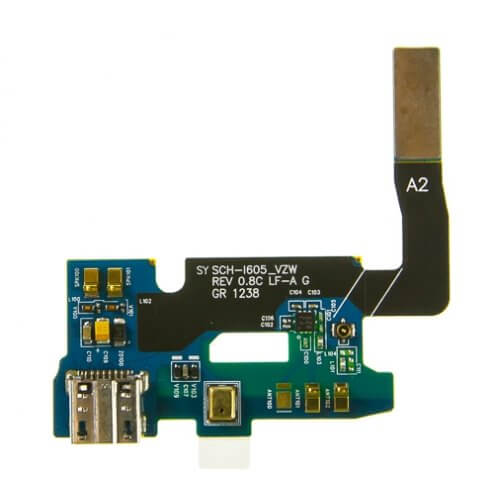 Charging Dock with Flex Cable for use with Samsung Galaxy Note II Verizon i605