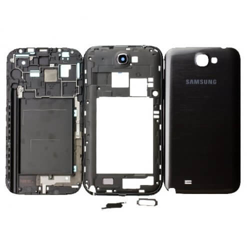 Full Housing for use with Samsung Galaxy Note II International N7100