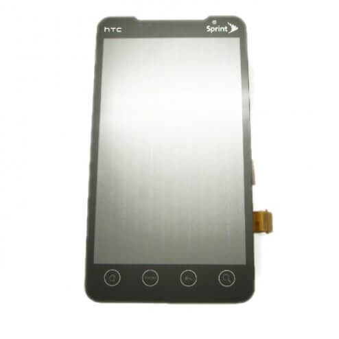 HTC EVO 4G Digitizer and LCD Assembly, small flex