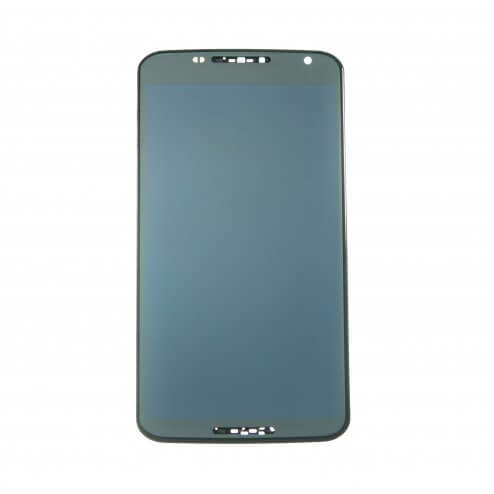 LCD with Digitizer Assembly for use with Motorola Nexus 6 (XT1103), Black, with Frame