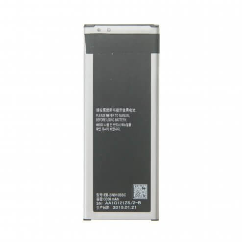 Battery for use with Samsung Galaxy Note 4 SM-910A