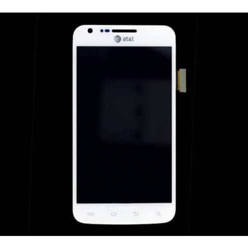 LCD & Digitizer for use with Samsung Galaxy S2 Skyrocket i727, White (AT&T) 12908B