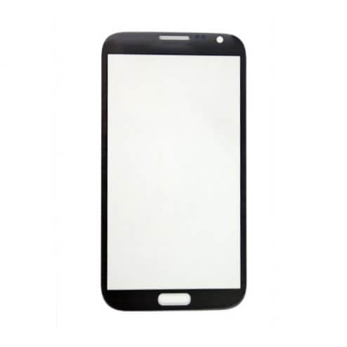 Glass only for use with Samsung Note 2 Titanium Gray
