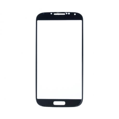 Glass only for use with Samsung Galaxy S4 Black Mist (No Logo)