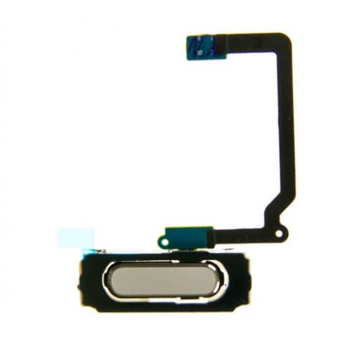 Home Button Flex Cable White for use with Samsung Galaxy S5