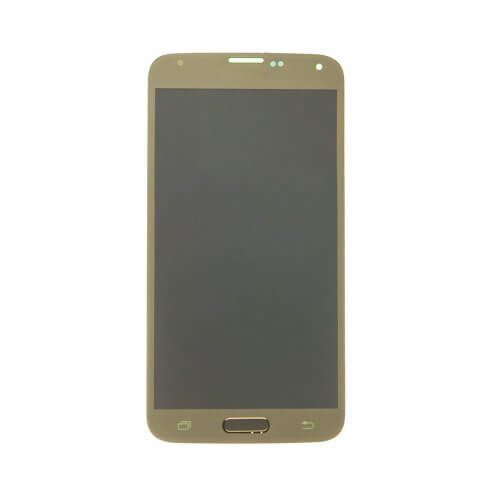 LCD & Digitizer Assembly for use with Samsung Galaxy S5 G900, Gold