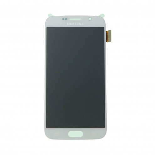 LCD & Digitizer Assembly for use with Samsung Galaxy S6 G920 White