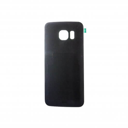 Battery Cover for use with Samsung Galaxy S6 Edge G925, Black Sapphire