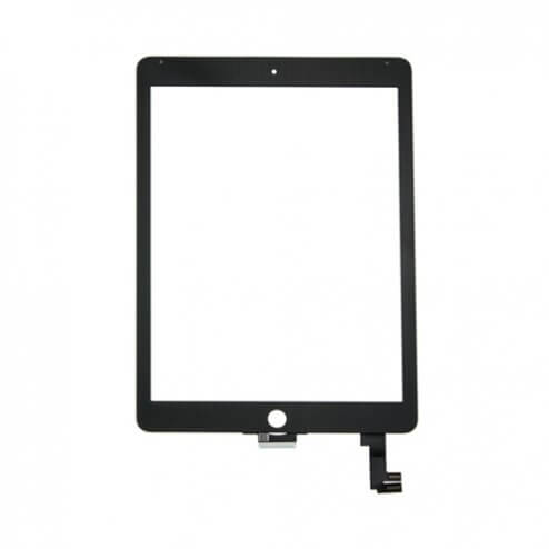 Glass and Digitizer Touch Panel Assembly for use with iPad Air 2 - Black