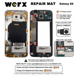 Magnetic Screwmat - Samsung Galaxy S6