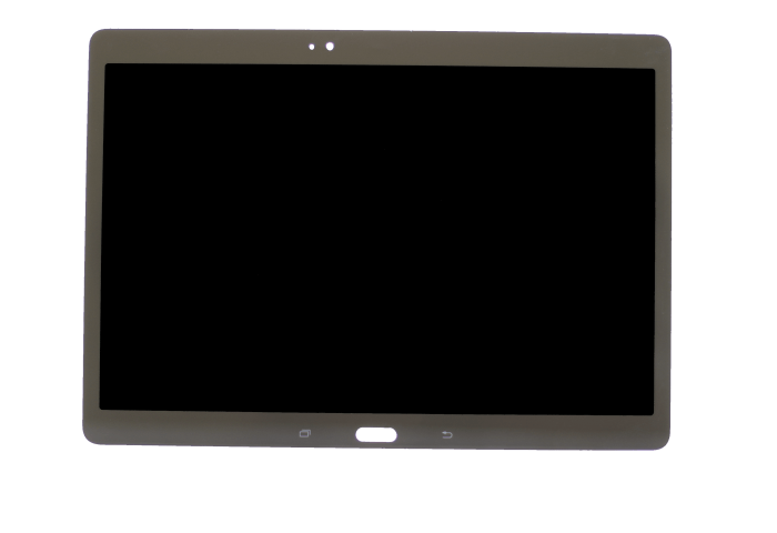 """LCD with Digitizer Assembly for use with Samsung Galaxy Tab S 10.5"""" SM-T807AHAAATT, Charcoal Gray, no Frame"""