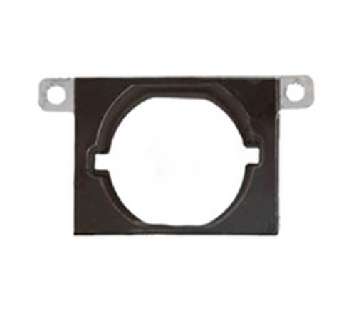 Home Button w/Flange, White for use with iPhone 4S