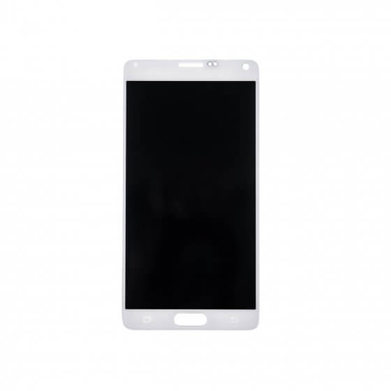 LCD & Digitizer Assembly for use with Samsung Galaxy Note 4 SM-N910, Frost White, (No Logo)