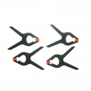 Set of 4 Spring Clamps, 1