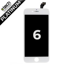 Platinum LCD Assembly for use with iPhone 6 (White)