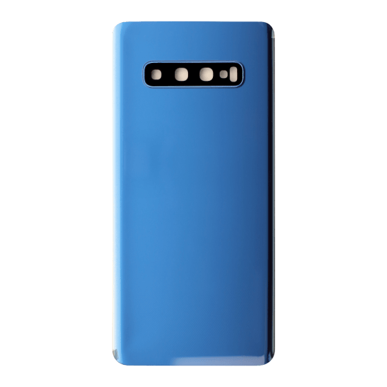 Back Cover with Camera Lens for use with Samsung S10 Plus (Blue)
