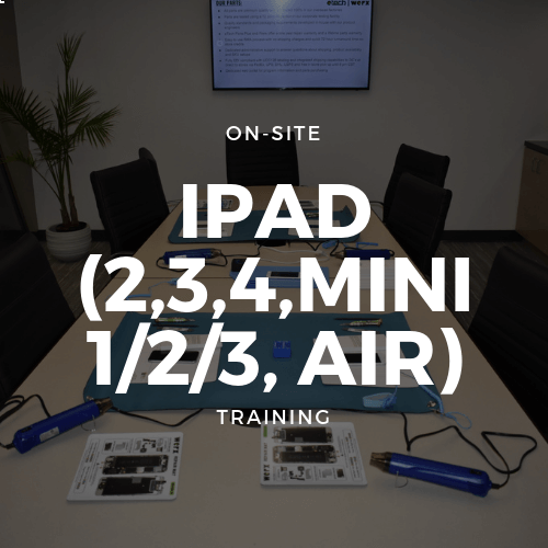 iPad (2,3,4,Mini 1/2/3/4/5, Air/ Air 2) Training + Toolkit
