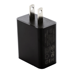 Dual USB Power Adapter 5V-2A (Black)