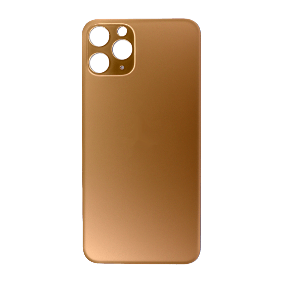 Back Glass (No Logo) for use with iPhone 11 Pro (Gold)