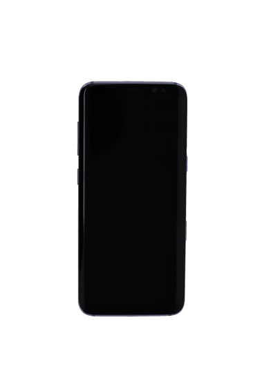 Screen Assembly Black (with frame)  for use with Samsung Galaxy S8 (Orchid Gray)