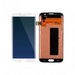 LCD & Digitizer Assembly for use with Samsung Galaxy S7 Edge SM-G935 (White)