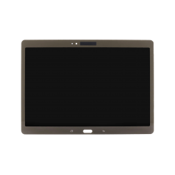 "LCD with Digitizer Assembly for use with Samsung Galaxy Tab S 10.5"" SM-T800, Titanium Bronze, no Frame"