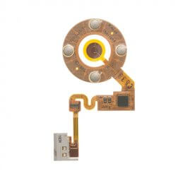 Replacement Click wheel and Headphone Jack Assembly for use with iPod Nano Gen 2