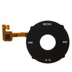 Replacement Black Click Wheel for use with iPod Classic
