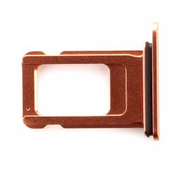 sim card tray for use with iPhone XR (Gold)