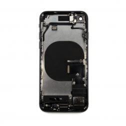 Back Cover Assembly for use with iPhone 8 (Black)