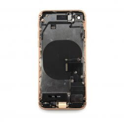 Back cover assembly for use with iPhone 8 (Gold)